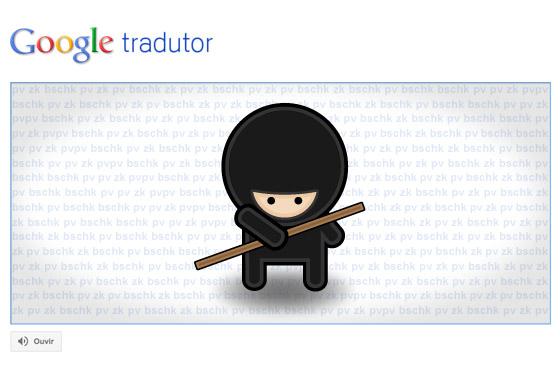 google tradutor easter eggs