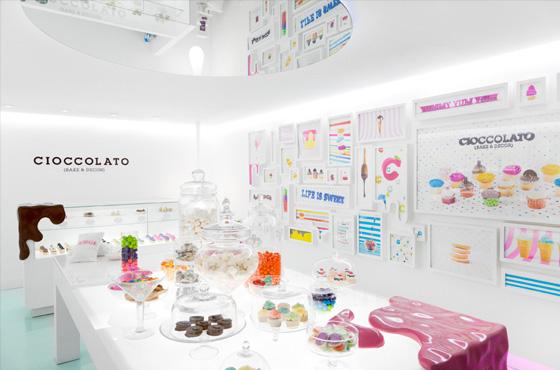 Cake Dessert Design Studio : Cutedrop   Decoracao estilo confeitaria