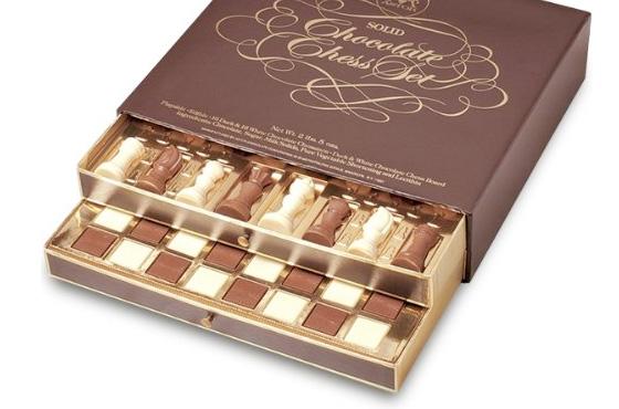 chocolate xadrez