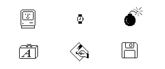 mac icons susan kare