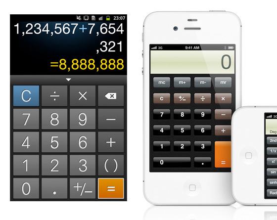calculadoras nativas
