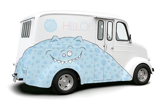 monster milk van