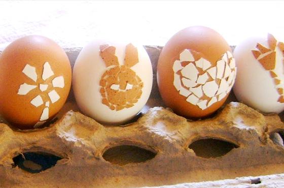 ovo de pascoa mosaico