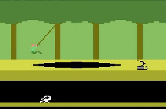 pitfall art of video games