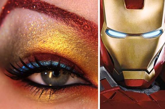 os vingadores - make up