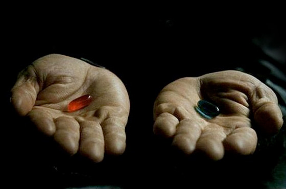 matrix red pill