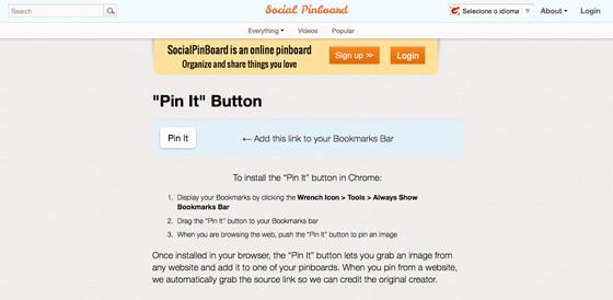 pin it bookmarklet