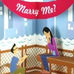 Pedido de casamento pop-up