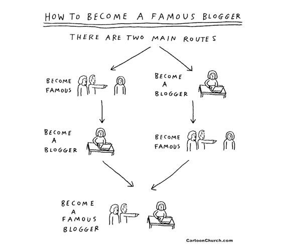 famous blogger cartoon