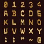 O menor alfabeto do mundo escrito com DNA