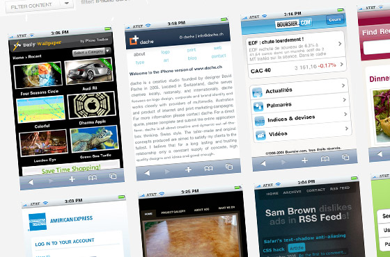 mobile css iphone resource