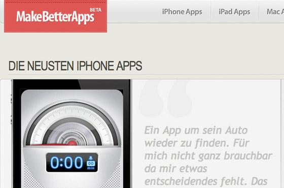make better apps
