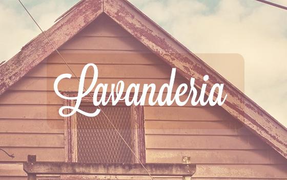 fonts free - Lavanderia