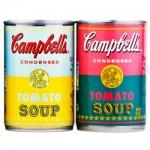 50 anos das sopas de Andy Warhol