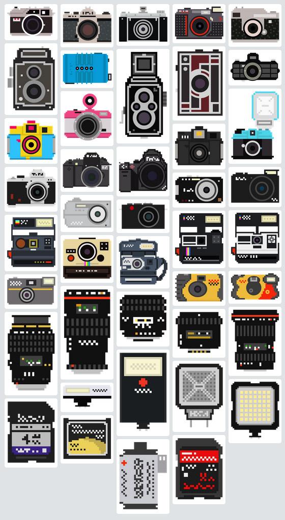 pixelated-camera