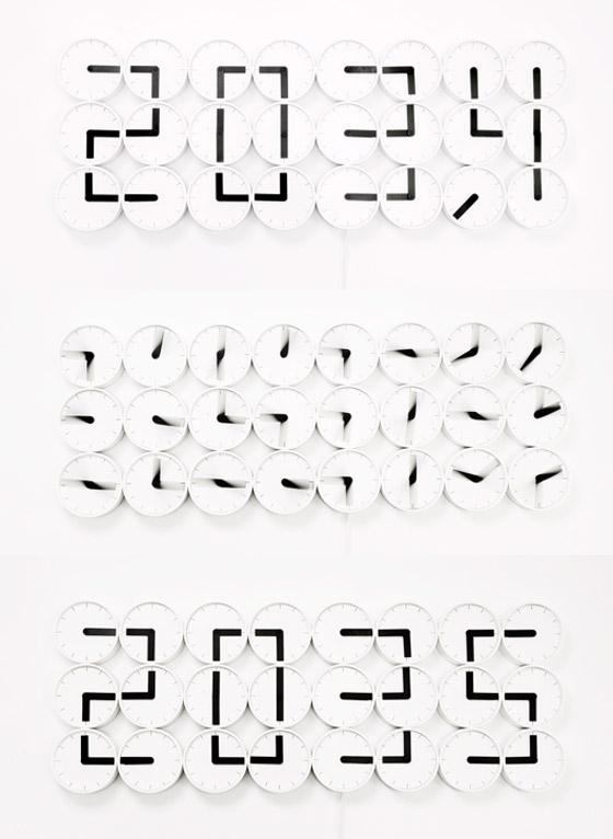 Clock Clock White
