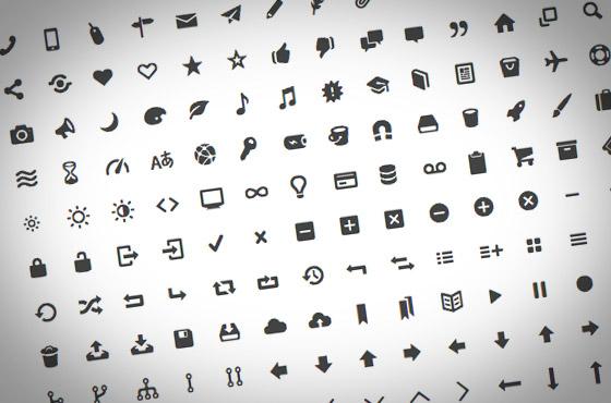 entypo - icons free and open type