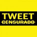 Tweet Censurado. Pela liberdade de expressão.