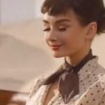 Audrey Hepburn de volta em comercial de chocolates