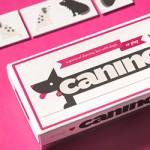 Canino, dominó de cachorro