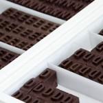 Typolade, o chocolate tipográfico