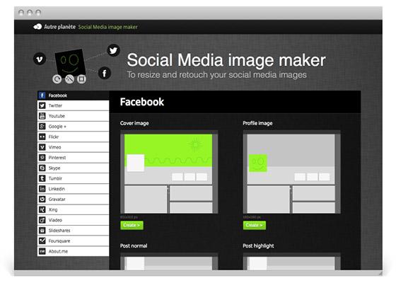 social image maker facebook