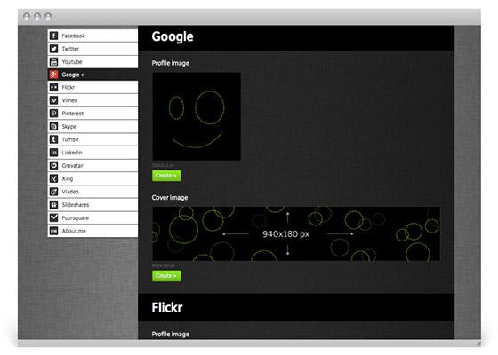 social image maker google