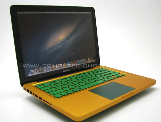 Color Anodized Macbook - Computer Choppers
