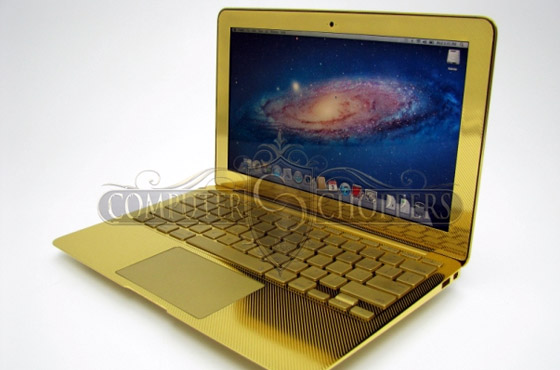 MacBook 24k Gold - Computer choppers