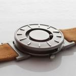 Um relógio que você não precisa ver para saber as horas