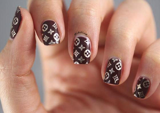 Nail Louis Vuitton