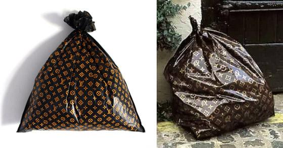Trash bag Louis Vuitton