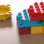 Clever Caps, as tampas plásticas que viram blocos de montar