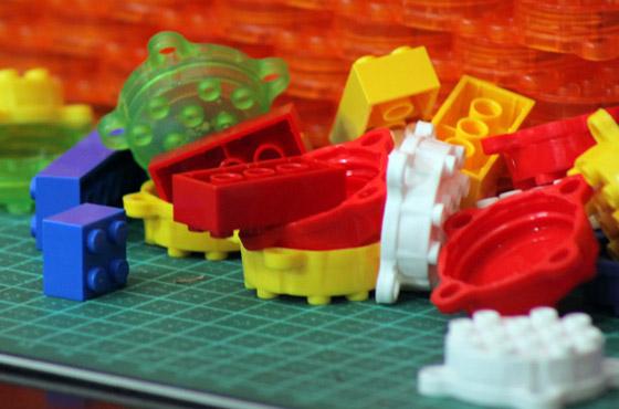 Clever Caps, tampas que viram Lego