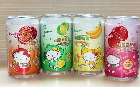 Hello Kitty cerveja