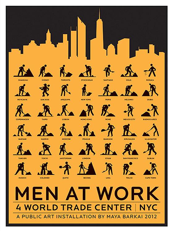 walking men work