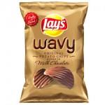Frito-Lay lança batata com chocolate