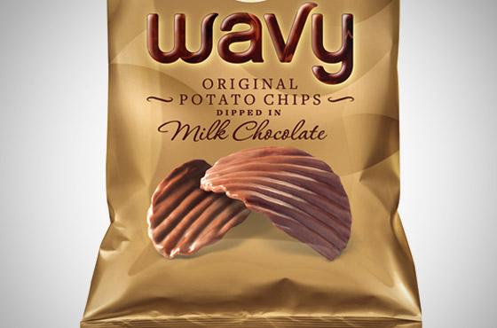 Lays batata com chocolate