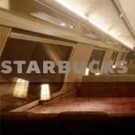 Starbucks abre loja no segundo andar de um trem suíço