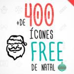 Download free: mais 400 ícones natalinos em vetor