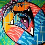 #cutetalk com o grafiteiro TOZ