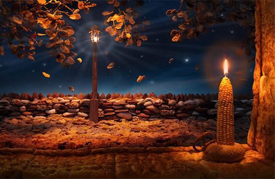 ''Corn Candle''