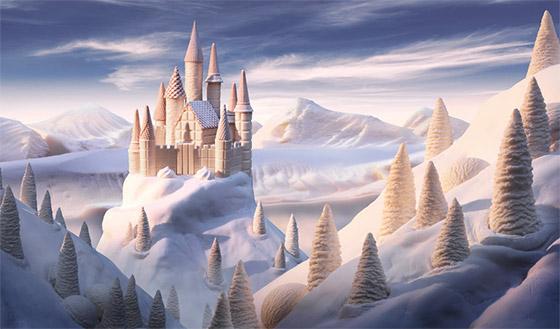 ''White Chocolate Castle''