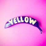Bananagrafia: tipografia em bananas