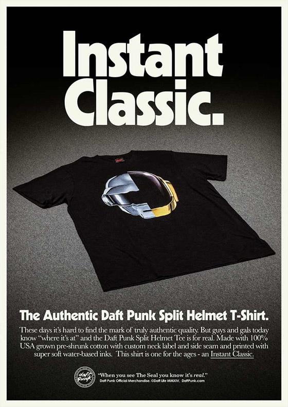 Daft Punk cria anúncios estilo anos 70 para divulgar loja