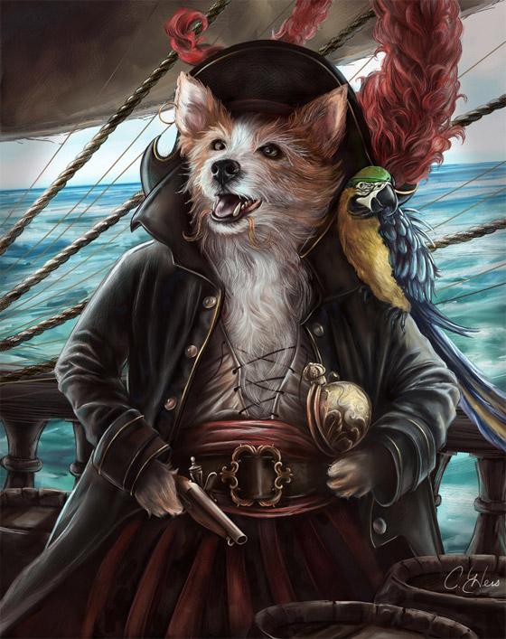 """Jean Lafeet"" (Jean Lafitte, pirata e corsário francês)"