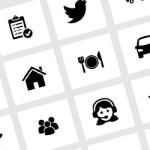 O paraíso dos ícones minimalistas: download free e em diferentes formatos (inclusive vetor)