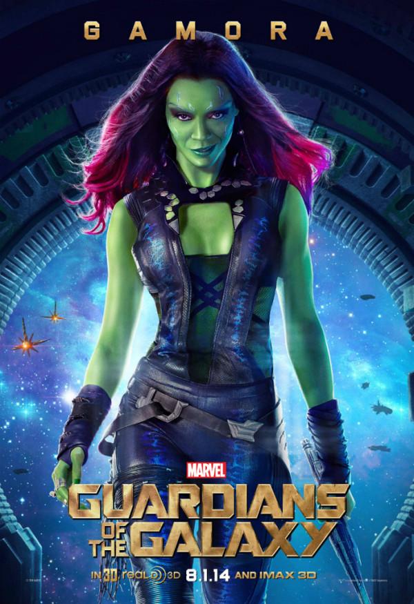gamora-zoe-saldana-guardians-of-the-galaxy-poster-600x875