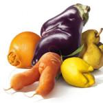 Inglórios? Uma ação que transforma frutas e legumes feios em estrelas