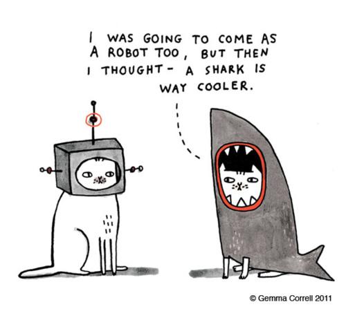 shark-versus-robot
